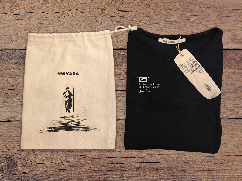 Yunus Tişört Siyah CAN - XL -